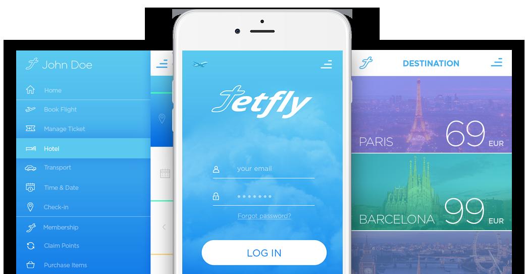 Web for Jetfly